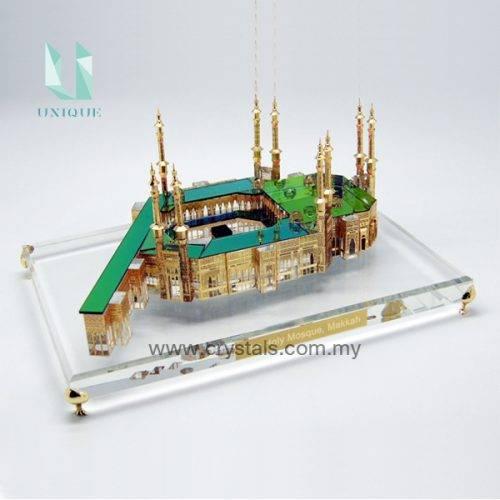 3D Crystal-Mosque Makkah
